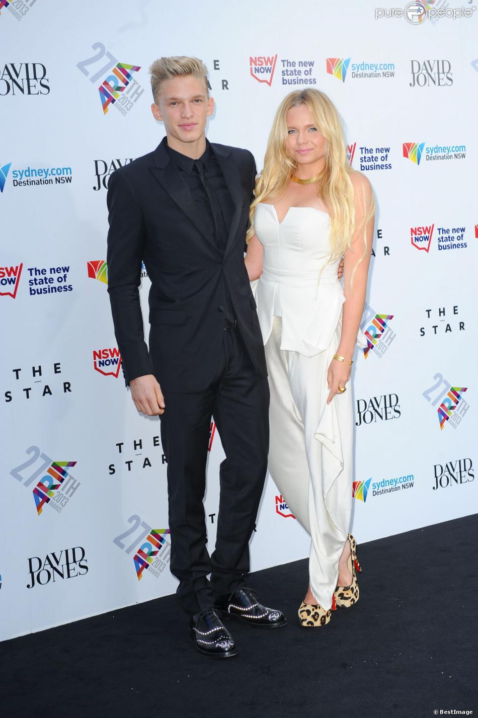 Cody Simpson et sa sœur Alli assistent à la cérémonie des ARIA Awards 2013. Sydney, le 1er décembre 2013.