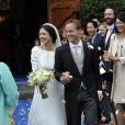Mariage du prince Jaime de Bourbon-Parme et de Viktoria Cservenyak le 5 octobre 2013 à Apeldoorn.