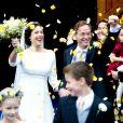 Le prince Jaime de Bourbon-Parme et la princesse Viktoria (née Cservenyak) célébraient leur mariage le 5 octobre 2013 à Apeldoorn, aux Pays-Bas.