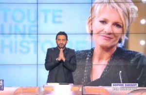 Jean-Michel Maire invite au resto Sophie Davant, qui le trouve ''pas mal''