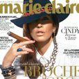 Cindy Crawford en couverture du magazine Marie Claire México y América Latina. Photo par John Russo. Décembre 2013.