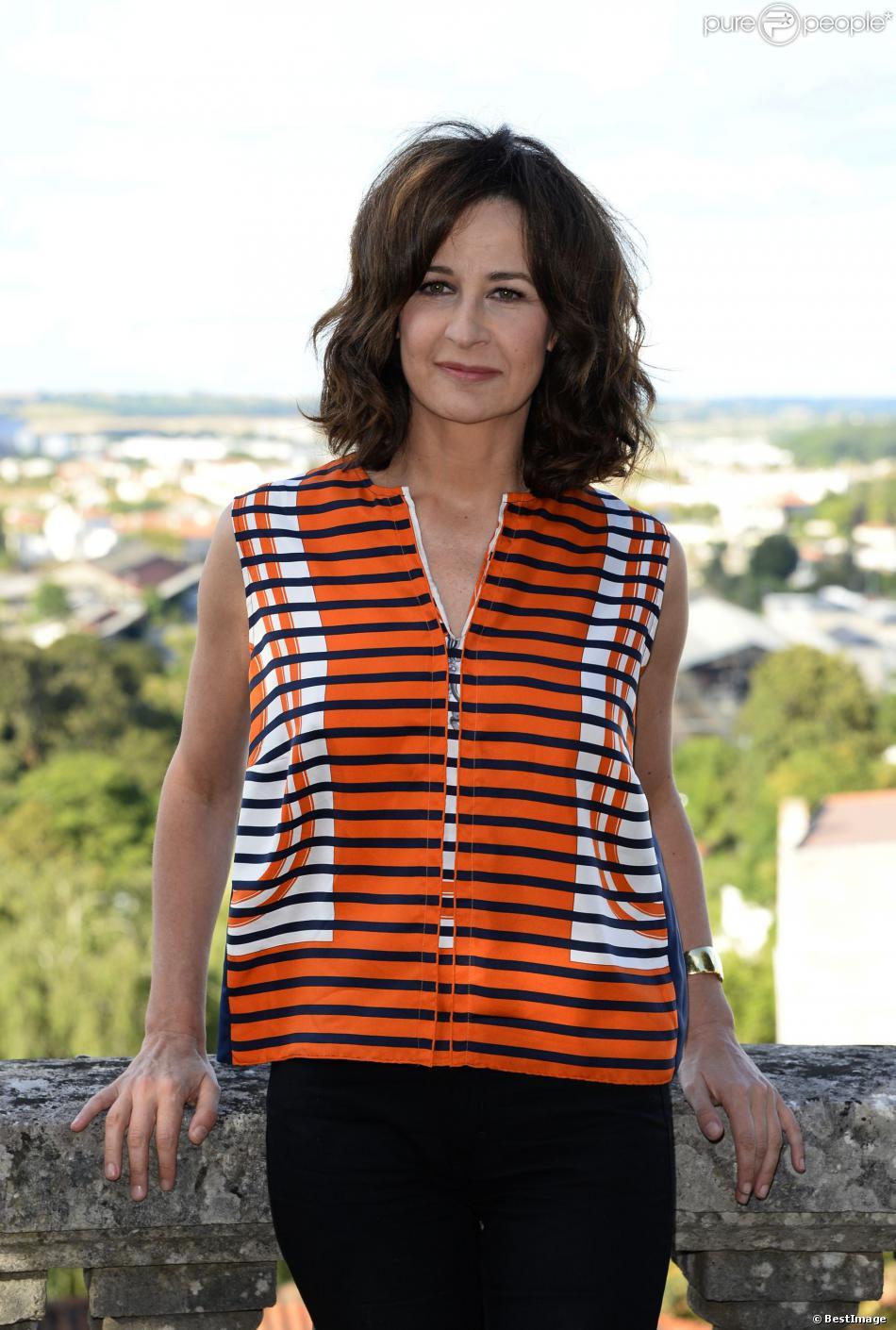 Valérie Lemercier lors du Festival du film francophone d'Angoulême le 26 août 2013