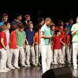 Exclusif - Les Petits Chanteurs d'Asnieres au concert de charité pour les enfants de l'hôpital Ambroise Paré de Boulogne-Billancourt, au Carré Bellefeuille, le 4 décembre 2013.