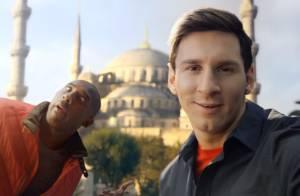 Lionel Messi et Kobe Bryant : Un incroyable concours de selfies autour du monde