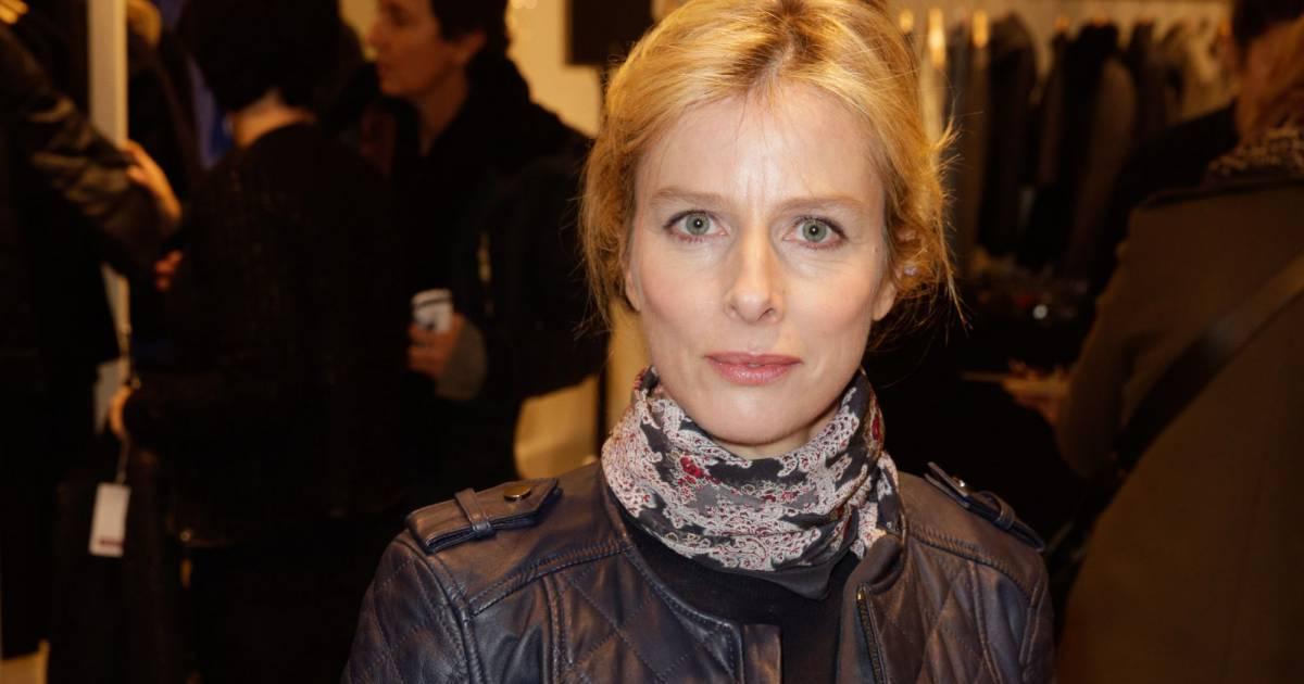 Karin viard lors de l 39 inauguration d 39 une nouvelle boutique comptoir des cotonniers paris le 5 - Boutiques comptoir des cotonniers ...
