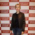 """Karine Viard lors de l'inauguration d'une nouvelle boutique """"Comptoir des Cotonniers"""" à Paris, le 5 décembre 2013."""