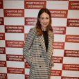 """Elsa Zylberstein lors de l'inauguration d'une nouvelle boutique """"Comptoir des Cotonniers"""" à Paris, le 5 décembre 2013."""