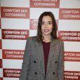 """Elodie Bouchez lors de l'inauguration d'une nouvelle boutique """"Comptoir des Cotonniers"""" à Paris, le 5 décembre 2013."""