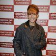 """Mélanie Doutey lors de l'inauguration d'une nouvelle boutique """"Comptoir des Cotonniers"""" à Paris, le 5 décembre 2013."""