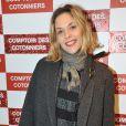 """Alysson Paradis à l'inauguration d'une nouvelle boutique """"Comptoir des Cotonniers"""" au 1 rue des Francs-Bourgeois à Paris, le 5 decembre 2013."""