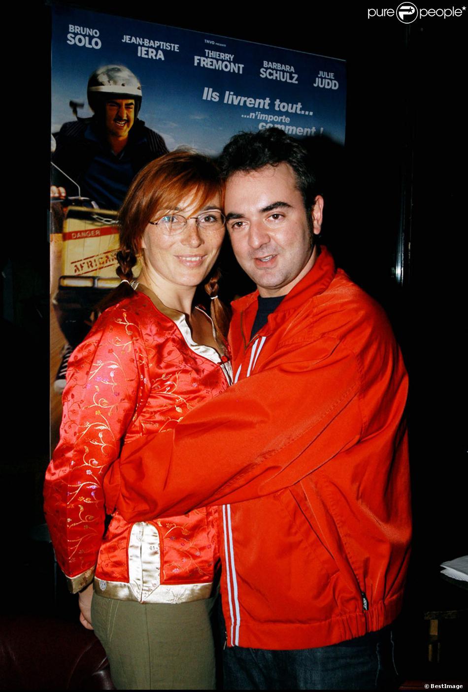bruno solo et sa femme v ronique dans le club l 39 etoile en 2003. Black Bedroom Furniture Sets. Home Design Ideas