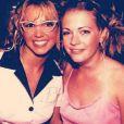 Melissa Joan Hart a posté un vieux cliché d'elle et de Britney Spears, le 4 décembre 2013.