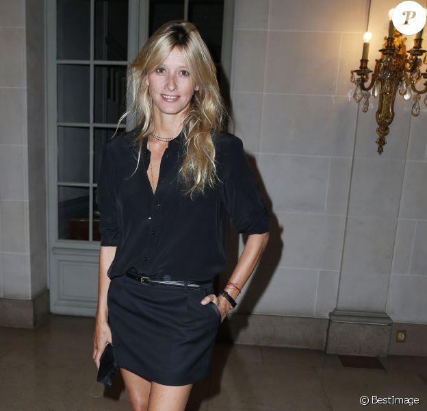 """Sarah Lavoine au lancement du nouveau N°1 de """"Lui"""" en septembre 2013"""