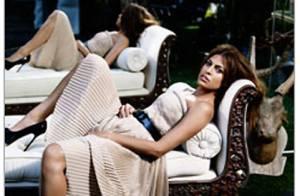 PHOTOS : Eva Mendes portée aux nues par Marie-Claire US