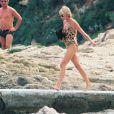 La princesse Lady Diana à Saint-Tropez le 16 juillet 1997.