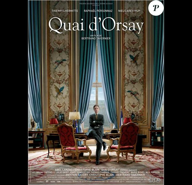 Le film Quai d'Orsay de Bertrand Tavernier