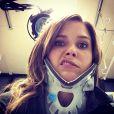 Sophia Bush, blessée sur le tournage de  Chicago PD , poste une photo d'elle, minerve au cou.