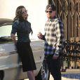Exclusif - Benji Madden et Dita Von Teese se sont affichés ensemble à Studio City, le 24 décembre 2013.