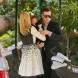 Jaime King et son mari Kyle Newman étaient le 29 décembre 2013 à l'Hôtel Bel-Air, à Los Angeles, pour un brunch en famille avec leur bébé James, né en octobre. L'occasion de le présenter à leur amie Rachel Zoe et de faire connaissance avec son second fils né quelques jours plus tôt, Kaius.