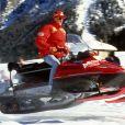 Michael Schumacher lors de vacances en Italie