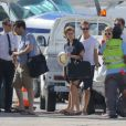 La princesse Beatrice d'York et son boyfriend Dave Clark ont quitté Saint-Barthélemy à bord d'un jet privé le 1er janvier 2014 après y avoir passé quelques jours de détente sur le yacht de Lakshmi Mittal et y avoir célébré le Nouvel An 2014.