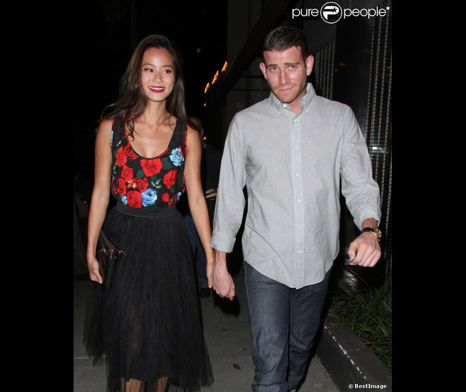 Jamie Chung et Bryan Greenberg le 26 août 2013 à West Hollywood.