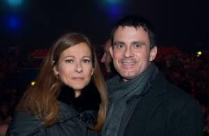 Manuel Valls et Anne Gravoin : Amoureux complices d'une fin d'année en chanson