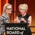 Meryl Streep pendant la soirée des National Board of Review Awards 2014 à New York le 7 janvier 2014.