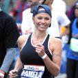 Pamela Anderson au marathon de New York le 3 novembre 2013.