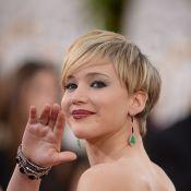 Golden Globes 2014 : Jennifer Lawrence, à nouveau sacrée, embrasse son chéri