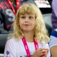 Lady Louise Windsor le 30 août 2012 lors des Jeux paralympiques de Londres