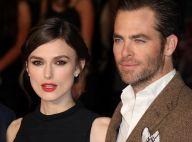 Keira Knightley : Glamour et divine pour l'agent Ryan, le séduisant Chris Pine