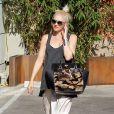 Gwen Stefani avec ses fils Zuma et Kingston à Los Angeles, le 29 août 2013.