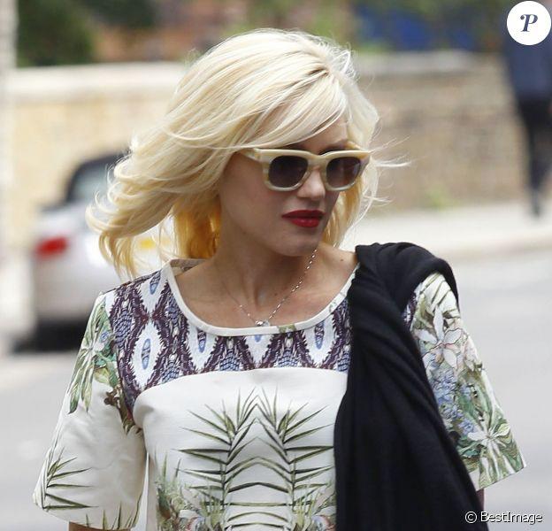 Gwen Stefani à Londres. Le 19 août 2013.