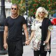 Gwen Stefani et Gavin Rossdale à Londres. Le 19 août 2013.