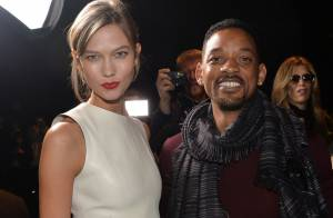 Fashion Week : Will Smith, hyperactif à Paris, au côté de la divine Karlie Kloss