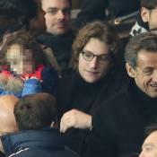 PSG-Nantes: Jean Sarkozy et le petit Solal comblés au côté du patriarche Nicolas