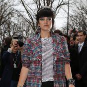 Fashion Week : Lily Allen et Olga Kurylenko admirent Chanel et sa mariée couture