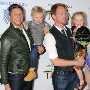 Neil Patrick Harris : Soirée féérique avec son chéri et leurs craquants bambins