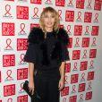 Alexandra Golovanoffassiste au Dîner de la mode contre le sida, au pavillon d'Armenonville. Paris, le 23 janvier 2014.