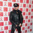 Peter Marinoassiste au Dîner de la mode contre le sida, au pavillon d'Armenonville. Paris, le 23 janvier 2014.