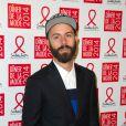 Woodkidassiste au Dîner de la mode contre le sida, au pavillon d'Armenonville. Paris, le 23 janvier 2014.