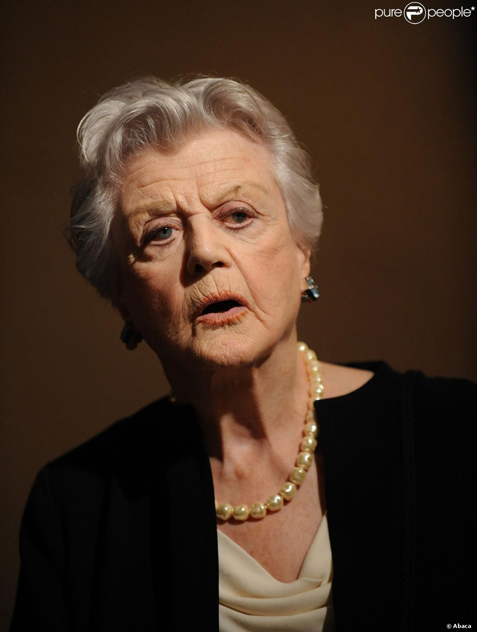 Angela Lansbury à New York le 16 avril 2012.