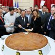 La cérémonie de la galette des rois de l'Elysée, le 8 janvier 2014, gardera un goût amer pour Valérie Trierweiler, avec la révélation de la liaison de François Hollande et Julie Gayet.
