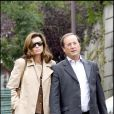 Exclusif - François Hollande et Valérie Trierweiler en septembre 2008 à Paris