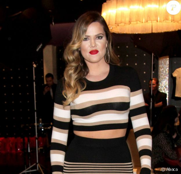 Khloe Kardashian à Las Vegas, le 25 janvier 2014.