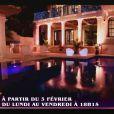 La sublime villa dans les premières minutes de Giuseppe Ristorante sur NRJ12 le 3 février 2014