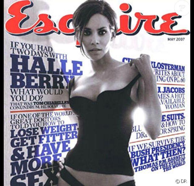 Halle Berry pour Esquire