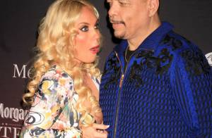 Coco, bimbo d'Ice-T : Lâchée par sa robe, elle dévoile sa volumineuse poitrine
