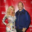 Coco et Ice-T assistent à la soirée pré-Super Bowl Party des magazines Shape et Men's Fitness au Cipriani 42nd Street. New York, le 31 janvier 2014.